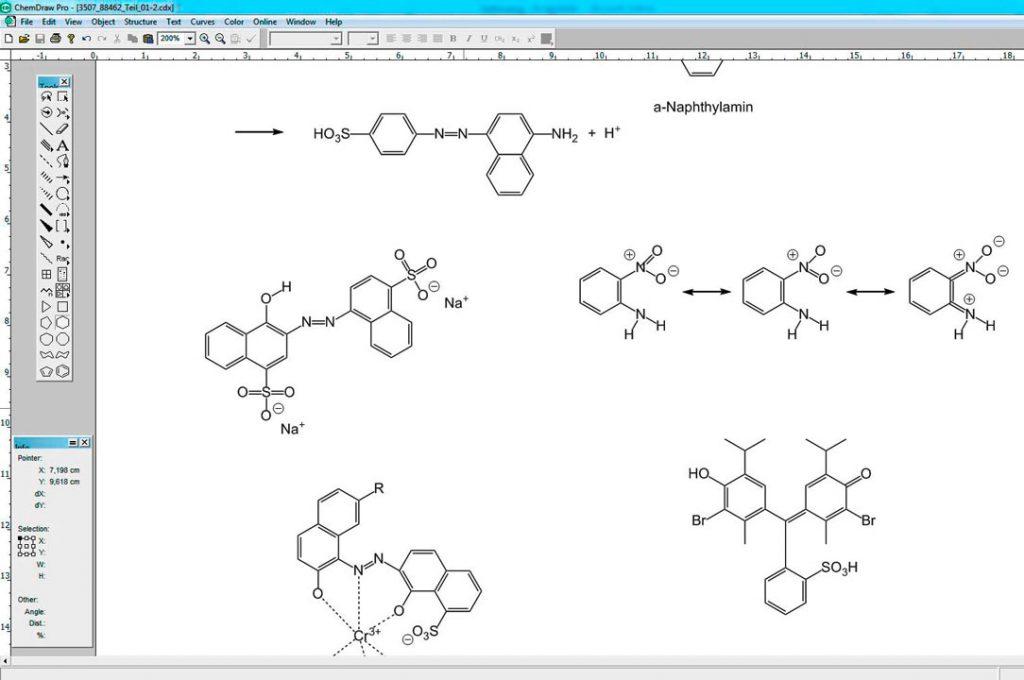 Chemische Strukturformeln